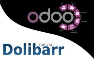 Logo Odoo et Dolibarr