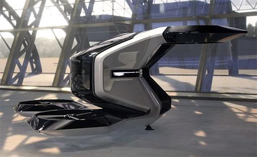 Halo taxi volant de General Motors - It-revue